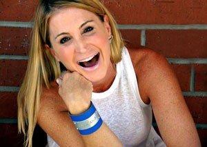 Leigh Koechner Smiling