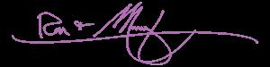 Ron & Mary signature